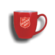 Red Salvation Army Mug