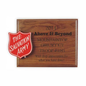 3D Shield Plaque