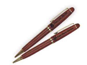 Rosewood Pen with logo-Personalized
