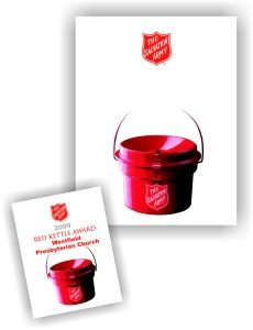 Red Kettle Award Certificates