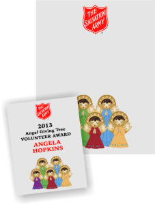 Five Angels Award Certificates