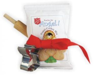 Angel Cookie Mix w/ Rolling Pin & Cookie Cutter