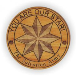 """You Are Our Star"" Wooden Token"