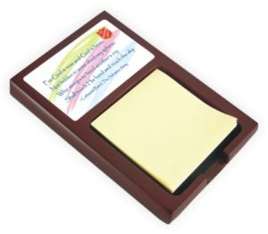 Volunteer Post-It Note Holder