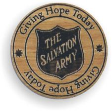 """Giving Hope Today"" Wooden Token"