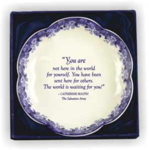 Catherine Quotation Plate