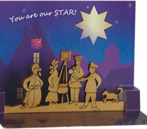 You are Our Star Engraved Wood Kettle Scene Table Sitter