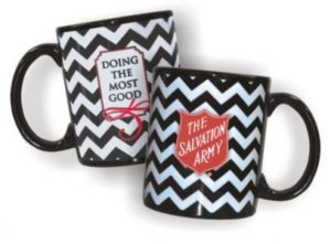 Black Chevron Mug