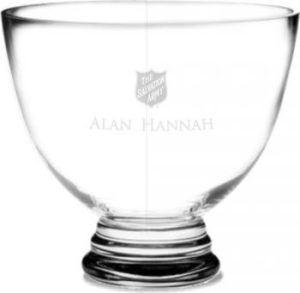 Commendation Bowl - clear