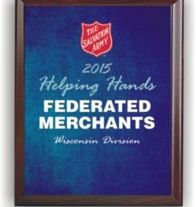 Helping Hands Award (blue)