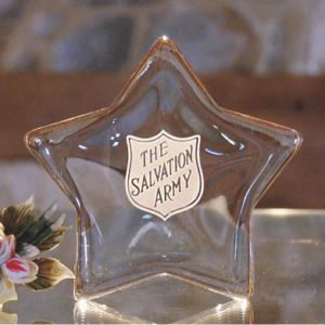 Star Glass Paperweight - Clear